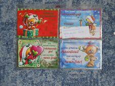Pimboli Postkarte ** weihnachlicher Kartenzauber 2004 *** Nr.1 - Nr.6 komplett