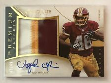 2014 PANINI IMMACULATE ALFRED MORRIS PREMIUM PATCHES #42/49 PATCH AUTOGRAPH AUTO