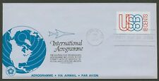 #UC48 18c Globe and Jet, Anderson FDC **ANY 4=FREE SHIPPING**