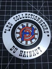 Les Collectionneurs Du Hainaut Car Badge