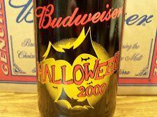 Budweiser, HALLOWEEN 2000 Glass Beer Bottle Empty, 1 - 64 Oz King Pitcher