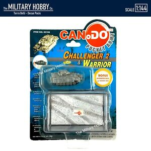 RARE 1:144 Dragon Models Can.Do Pocket Army UN Warrior FV510 Tank