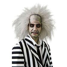 Beetlejuice Wig Adult Movie Fancy Dress Costume Ghost Halloween Horror Official