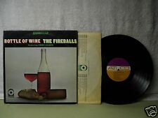 The Fireballs LP Bottle Of Wine 1968 Very Clean Orig! Jimmy Gilmer Hippy Psych