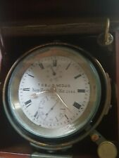 Ship Chronometer 1890 - 1910 N.Y. RARE