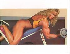 CORY EVERSON Ms Olympia Female Bodybuilding Workout Muscle Photo Color