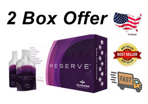 JEUNESSE RESERVE 60 AUTHENTIC GEL PACKETS (2 Boxes) - Free Shipping  06/22 EXP