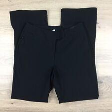 Jag Black Straight Ankle Splits Stretch Women's Pants Size 10 W28 L29.5 (AJ8)