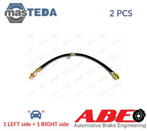 2x ABE FRONT BRAKE HOSE LINE PIPE C80134ABE I NEW OE REPLACEMENT