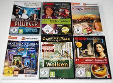 9 x WIMMELBILD-SPIELE  -  PC SAMMLUNG  -  Wimmelbildspiele  -  Alles Neuware