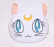 Anime Sailor Moon Artemis White Cat Luna Plush Pillow Cushion Bed Sofa 15 inch