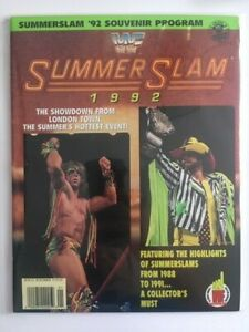 WWF Magazine Program Summer Slam August 1992 Ultimate Warrior Macho Man Savage