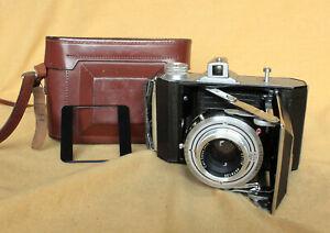 Weltax German 6x6 6x4.5 MF 120 film camera CLA Prontor Zeiss Tessar SerNo 90000