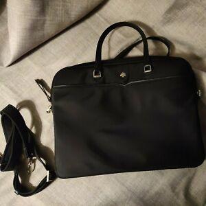 "Kate Spade Jae Slim Nylon Laptop Messenger Office Commuter Bag $250 Up To 15"""