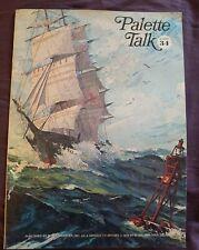 Palatte Talk #34 By M. Grumbacher Inc Paperback 1978
