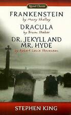 Shelley Et Al : Frankenstein/Dracula/Jekyll & Hyde (Sc): Frankenstein/Dracula/Jekyll & Hyde (Sc) by Mary Wollstonecraft Shelley, Bram Stoker (Paperback, 2002)