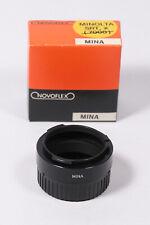 Novoflex Adapter MINA für Minolta zB. Schnellschussobjektiv Noflexar 400mm 5.6