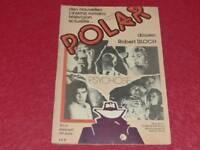 [Bibliot. H. & P J. Oswald ] Revista Polar #3 Carpeta Robert Bloch Junio 1979