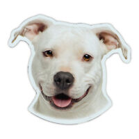 Magnetic Bumper Sticker - American Staffordshire Terrier (Pit Bull) Magnet