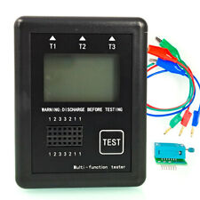 Esr Frequency Meter M8 Transistor Tester Diode Inductance Capacitor With Case