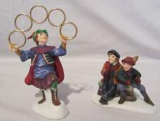 Dept 56 The Twelve Days of Dickens Village V Five Golden Rings #58381