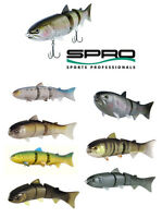 "Spro Bbz-1 Swimbait 8"" Slow Sinking Various Colors Bass Fishing Lure Bait"