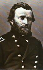 General Ulysses Simpson Grant, later US President, Uniform -- Civil War Postcard