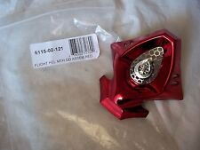 SIXSIXONE FLIGHT MOTORCYCLE HELMET MOUTH GUARD RED CHROME