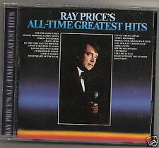 """RAY PRICE, CD """"ALL-TIME GREATEST HITS"""" NEW SEALED"""