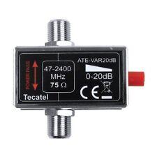 ATENUADOR DE SEÑAL REGULABLE 0-20dB  de 47 A 2400 MHz. - Envio desde España
