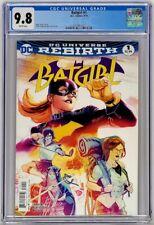 Batgirl #1 DC 2016 CGC 9.8 NM/MT White Pages Rebirth Top Census Grade