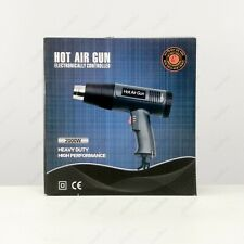 Heat Gun Hot Air Gun Step-Less Temperature Adjust 4 Nozzles 2000W Paint Stripper