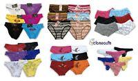 New 5 Womens Hipster Boyshort Girl Panties Bikini Underwear Size S-M L-XL