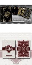 2 cubiertas Tarjetas Bicycle Legacy Black Limited Edition+Rojo por jugadores