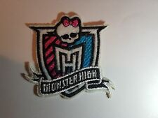 Monster High Iron On Sew On Patch Transfer Badge