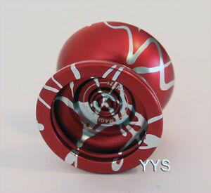MAGICYOYO N11 Professional Yo-yo - Red with Silver Splash