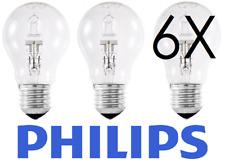 PHILIPS 42 W = 55 W alogena ECO GLS Dimmerabile ES E27 Confezione da 6