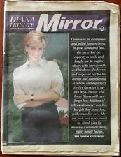 Mirror Diana Tribute Saturday September 6 1997 Princess Diana