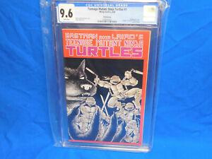 Teenage Mutant Ninja Turtles TMNT #1 (CGC 9.6 NM+) Fifth Printing White 1988