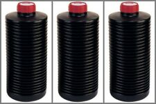 3 x kood Ap Collapsible 1 Litre Bottle Film Developing Chemical Processing