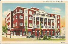 Community Inn in Hershey PA Postcard