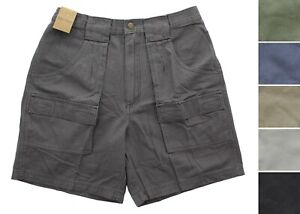 Wrangler Men's Cargo Shorts Front Pocket, Hiking, Fishing, 7 Inch Inseam