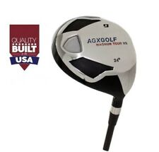 AGXGOLF FAIRWAY XS #9 WOOD (24°) MENS RIGHT GRAPHITE SHAFT ALL SIZES +HEADCOVER