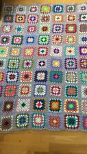 Handmade Crochet / Granny Square Blanket / Throw Perfect Gift
