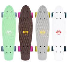 RAM Pennyboard Skateboard Cruiser Mini Komplettboard Funboard Kinder Abec 7 LED