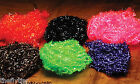 HARELINE'S TRANSLUCENT ICE CHENILLE  LARGE -- Fly Tying material estaz cactus
