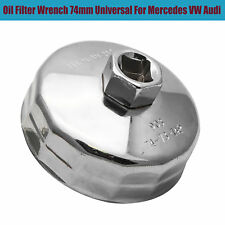Oil Filter Wrench Cap Housing Tool Remover 74mm Universal for MERCEDES VW AUDI