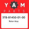 3TB-81450-01-00 Yamaha Rotor assy 3TB814500100, New Genuine OEM Part