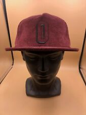 Obey Worldwide New Era Cotton Brown Snapback Hat Baseball Cap Wide Brim Cotton