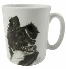 WAGGY DOGZ HUND WELPE WARNTON BORDER-COLLIE HEUTIGEN CHINA BECHER TASSE KANNE
